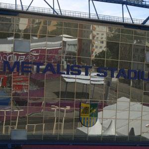 am Metalist Stadion