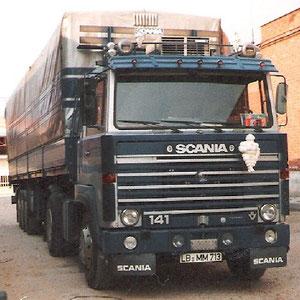 mein erster Scania - 141  - V8 (ca.1986)