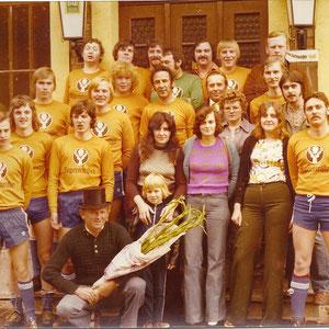 Thekenmannschaft der Gaststätte Joachim aus den 70ger Jahren