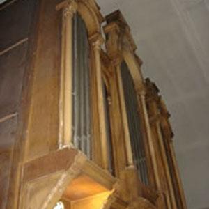 Le buffet de l'orgue