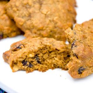 Haferflocken Cranberry Cookies