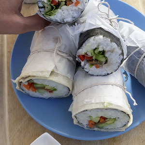 Sushi Wraps vegan
