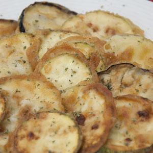Gebratenes Gemüse/Tiganita Lachanika-Τηγανητά λαχανικά