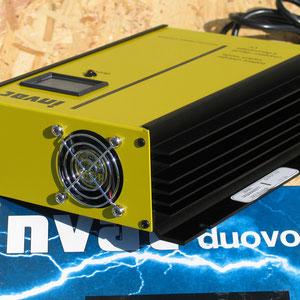 Chargeur Invac Duovolt Navicom 30A