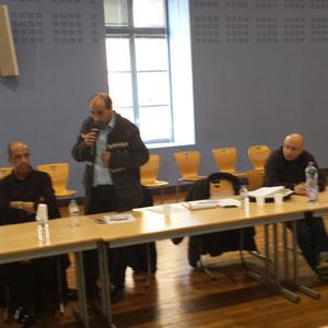 Le Président GASMI, à Toulouse, le 21 février 2015
