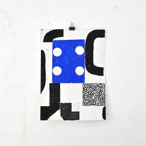 Sasha Pichushkin: Collage_5, 2016 Mischtechnik auf Papier, 30 x 42 cm, Galerie SEHR 2017