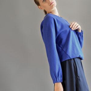 ASCK Sweatshirt N° 02 cobalt blue
