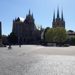 Erfurter Dom und Severi Kirche, Erfurt Thüringen