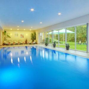 Pool, Aktiv u. Vital Hotel Schmalkalden, Thüringen