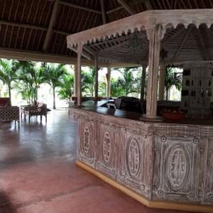 Lobby, Hotel Neptune Paradise Beach Resort, Galu Strand, Südküste, Kenia, Afrika