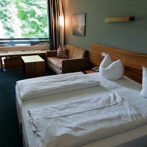 Zimmer im Hotel Schloss Berg, Starnberger See