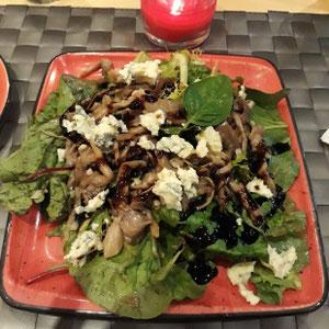 glutenfreier Salat, Hotel Eden Roc, Rhodos