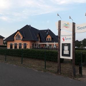 Restaurant Seeperle, Ferienpark Auenhain, Markkleeberger See, Leipzig