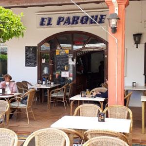 Restaurant El Parque, Novo Sancti Petri, Costa de la Luz, Spanien