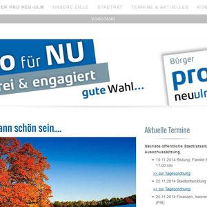 Webdesign und technische Umsetzung l www.pro-nu.de