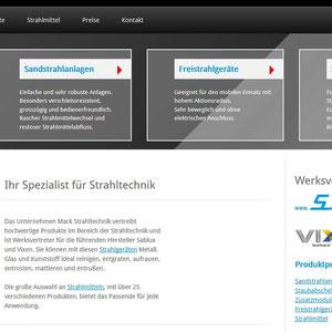 Marketing und Vertrieb l www.strahlkabinen.de