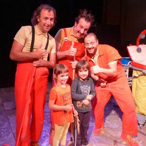 Le spectacle WOW / Cie Houppz Théâtre