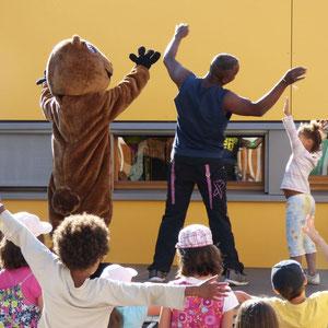 Zumba Party avec Griotte la Marmotte