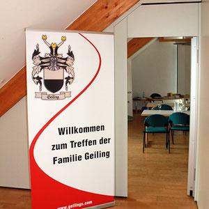 Treffen der Familie Geiling 2014 in Arrach