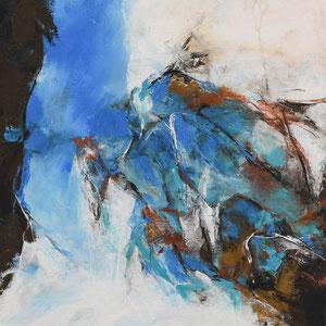 """""""Aufsteigen"""", Acrylbild 50 cm x 70 cm, Preis für beide 500.- €"""