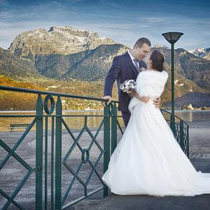 Mariage Portrait de Couple Lac d'Annecy Saint Jorioz