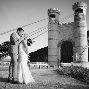 Mariage Portrait de Couple Pont de la Caille Annecy
