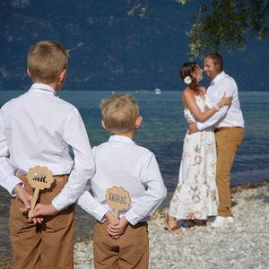 Mariage Portrait de Couple Famille Mr And Mrs
