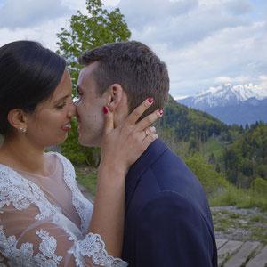 Mariage Portrait de Couple Montagnes d'Annecy