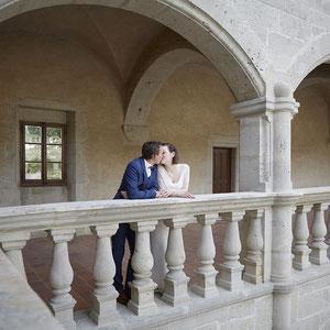 Mariage Portrait de Couple Château de Clermont