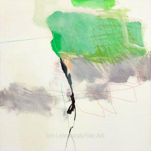 untitled 18082019 | Iris Lehnhardt. 60x60 cm. Mischtechnik auf Leinwand.