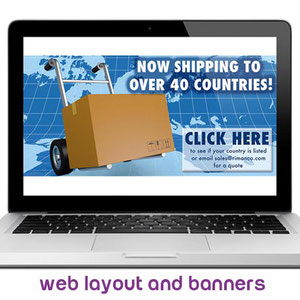 Web Layout and Banners