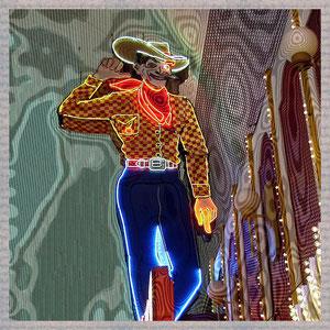· motiv-untersetzer · set 06.2 ·  motiv: vegas_cowboy  ·  2005-11-10-102 · yak © 2003 RK