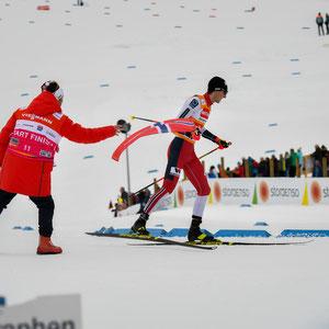 Nordisch Kombinierer beim Langlauf_Oberstdorf 2020