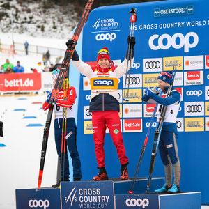 FIS Langlauf Ski Weltcup 2020 in Oberstdorf