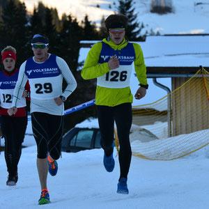 17. Int. Volksbank Vorarlberg Winterduathlon, Axel Reusch und Lukas Rinner