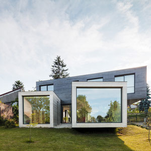 MAISON D'ARCHITECTE CONTEMPORAINE EN BETON