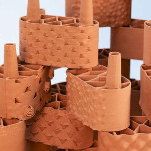 Lego im Dienste der Wissenschaft: Die Module bestehen aus gebranntem, nachhaltigem Ton aus dem 3D-Drucker.