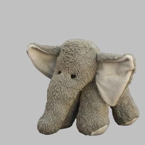 Großer grauer Elefant von PlüNatur