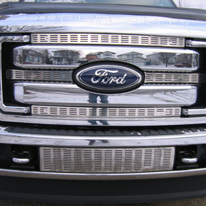 2011-2014 F250 Bug Screen no lic plate