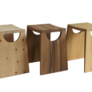 Hocker Massivholz