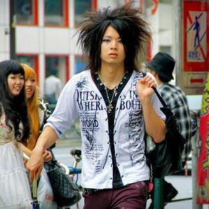He got a lot of attention! Guy in Harajuku, Tokyo, Japan 2013 © Sabrina Iovino | JustOneWayTicket.com