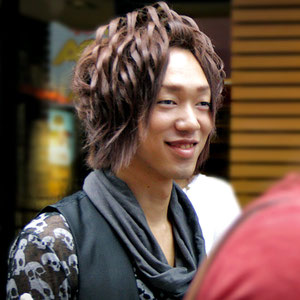I wonder how long it takes to prepare this hairstyle. Harajuku, Tokyo, Japan 2013 © Sabrina Iovino   JustOneWayTicket.com