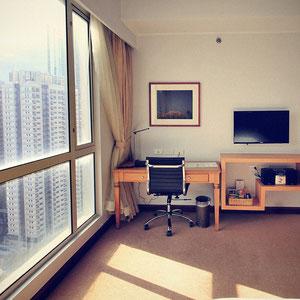 My room at The Linden Suites, Manila, Philippines © Sabrina Iovino   JustOneWayTicket.com