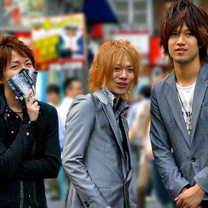 Aren't they cute? Met them in the streets of Kabukicho, Shinjuku, Tokyo. Japan 2013 © Sabrina Iovino | JustOneWayTicket.com