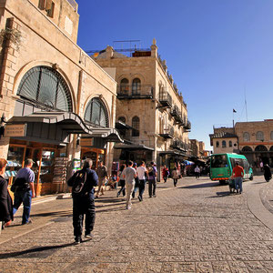 Entrance of the Old City in Jerusalem, Israel © Sabrina Iovino   JustOneWayTicket.com