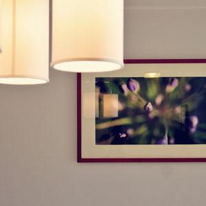 Wall decorations in my room at The Linden Suites, Manila, Philippines © Sabrina Iovino   JustOneWayTicket.com