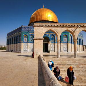 The Dome Of The Rock, Jerusalem, Israel © Sabrina Iovino   JustOneWayTicket.com