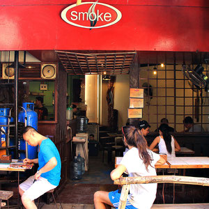 Smoke Resto at D'Mall, Boracay, Philippines. 2013 © Sabrina Iovino | JustOneWayTicket.com