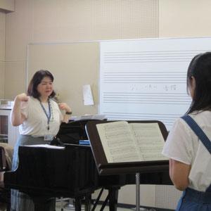 島崎智子先生の声楽レッスン