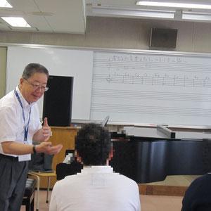 岩井孝信先生(器楽コース・電子オルガン)